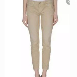 Current Elliott Stiletto  Polka Dot Skinny Jeans